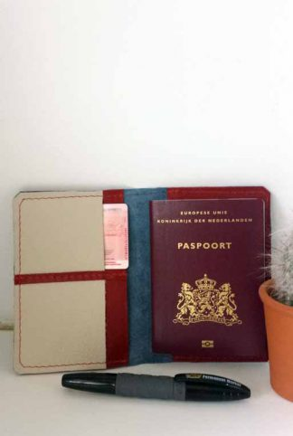 leren paspoorthoesje
